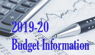 2019-20 Budget Information, click here