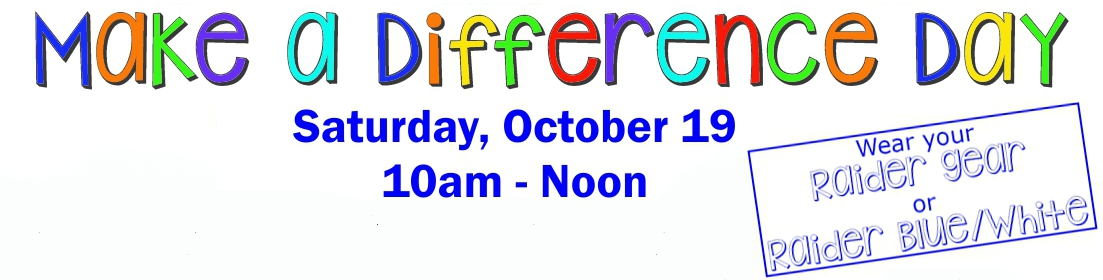 Does Pre K Make Any Difference >> Make A Difference Day Signup